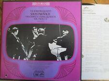 SIC-6034 Shostakovich Complete String Quartets vol 1 1-5 3 LP box set