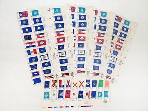 """6 MINT BLOCKS: Scott #1682a : 1976 """"Bicentennial Era 1776-1976"""" 13¢ Stamps"""