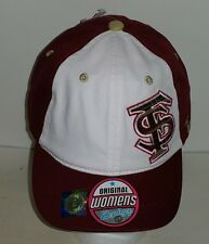Florida State  NCAA Maroon and White Womans  Adjustable Hat New