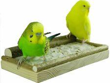 """Sitzbrett """"Klein"""" für Vögel 20 x 10cm - Vogelsitzbrett für Sand und Futterkörner"""