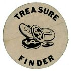 "One 1 Vintage ""Finder"" Sticker Art McKee's Museum of Sunken Treasure ca. 1950s"