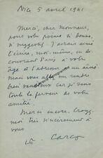 CARCO (Francis) écrivain français (1886-1958)