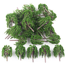 25x Willow Trees Model for Park Garden Trains Buildings Layout Scenery 6.5cm HO