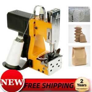 Handheld Electric Bag Sewing Machine Sea ling Sack Stitching Closer Automatical