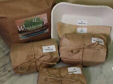 PR Hi-Quality Organic Wheatgrass Growing Kit w/Organic Soil-DID YA WHEATGRASS?