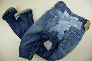 Vintage LEVIS 501 boyfit taper CT JEANS W28 L32 size UK 10 womens ladies Patch