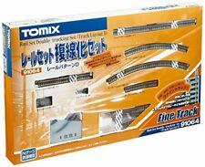 Tomix 91064 Double Tracking Set Track Layout Pattern D (N scale)