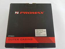 Promax Schalthülle Schwarz 4mm und 30 Meter mit Teflon Fahrrad Karton