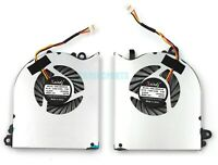 New for MSI GS60 GS60 Ghost pro seires CPU + GPU cooling Fans