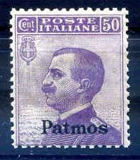 ISOLE EGEO  PATMO  1912 -  Centesimi   50    NUOVO **