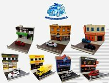 1:64 Diorama Buildings | Shops & Stores for Hot Wheels 1/64 scale diecast cars