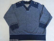Maglione Blu per bambini dai 2 ai 16 anni 100% Cotone