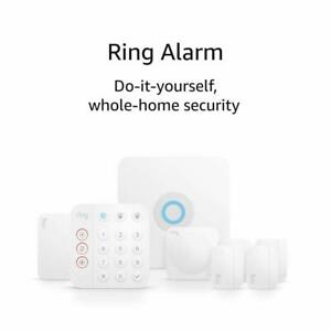 New Ring Alarm 8-piece Kit 2nd Generation Home Security System - Highly Rated