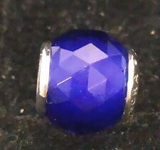 Pandora Murano Glas Charm Bead 791722NCB Geometric Facets Royal Blue S925 ALE