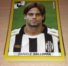 100 FIGURINE CALCIATORI PANINI 2007/08 DIVERSE ALBUM LOTTO STOCK 2008