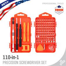 110 en 1 Destornillador de Precisión Magnético Teléfono conjunto de piezas Kit de herramientas de reparación electrónica