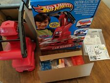MATTEL TOYS R US EXCLUSIVE HOT WHEELS CAR MAKER DESIGN KIT PLAYSET working wax