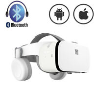 BOBO Z6 Bluetooth VR Virtual Reality Headset 3D Glasses Mobile Games Video <6.5""