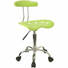 Flash Furniture Computer Task Chair w/ Tractor Seat Office Green & Chrome Home