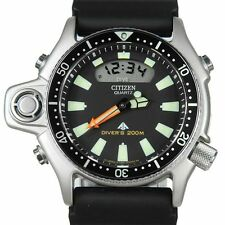CITIZEN PROMASTER AQUALAND DIVER WATCH JP-2000-08E JAPAN MOVT  WATCH *LAST ONE*