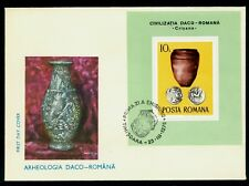 1976 Old Silver Coins,Pottery,Archaeology,Münze,Monnaie,Moneda,Romania,B.131,FDC