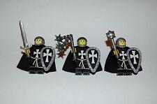 Custom Figuren Perser Ritter Sarazenen Set 1 aus LEGO® Figuren Teilen