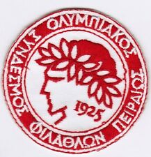 Olympiakos FC Greek Football Soccer Patch Badge Embroidered Iron On Applique