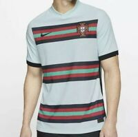 NWT $165 Nike Portugal 2020 Vapor Knit Away Soccer Jersey CD0600-336 Size Large