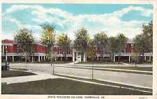 Farmville Virginia State Teachers College Street View Antique Postcard K17523