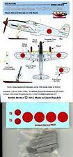 Rising Decals 1/72 SKI UNDERCARRIAGE for the KAWASAKI Ki-61-I OTSU Resin Set