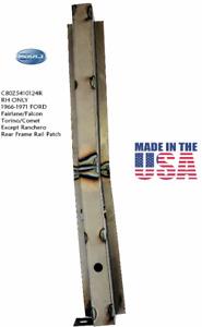 1966 - 1971 Ford Fairlane Rear Frame Rail RH - MADE IN USA