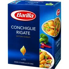5x Pasta Barilla Conchiglie rigate Nr. 93 italienisch Nudeln 500 g pack