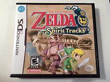 Legend of Zelda Spirit Tracks - Nintendo DS - Replacement Case - No Game