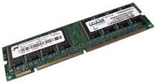 128MB PC100 100MHz non-ECC Unbuffered CL2 168-Pin DIMM (MT16LSDT1664AG-10EC7)