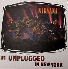 Nirvana MTV UNPLUGGED: NEW YORK 180g PALLAS Geffen Records NEW SEALED VINYL LP