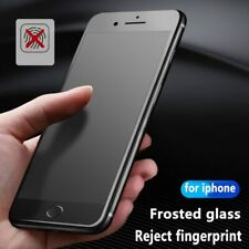 Matte Frosted  Tempered Glass Screen Protector Film for iPhone Anti-fingerprint