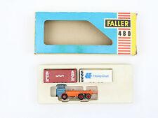 Faller Ho Container Truck 480 Aurora Afx Ams slot car H0 ca 1970 Near Mint Box