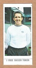 Lyons Maid Soccer Stars 1970 #25 Dave Mackay Derby County With Token