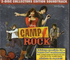 CAMP ROCK - CD + DVD (NUOVO SIGILLATO) COLLECTORS EDITION