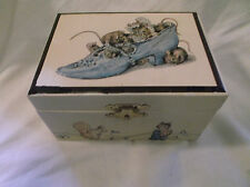Vintage Musical Jewelry Box By Willitts Galleries
