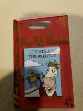 Disney Parks 2019 Pop-Up Books Wind In The Willows Mr. Toad Cyril Le 3-D Pin