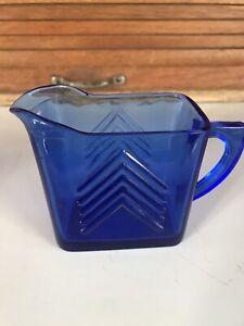 Gorgeous cobalt blue Cream pitcher Excellent Condition