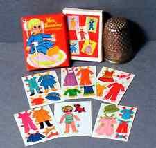 Dollhouse Miniature 1:12   Mrs Beasley Paper Dolls  1960s  dollhouse girl toy