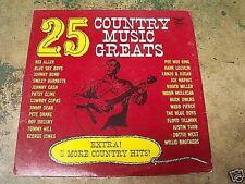 25 COUNTRY MUSIC GREATS LP VINYL RECORD ALBUM  STARDAY