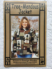 Tree-Mendous Jacket Pattern by Eileen's Design Studio Sz Petite to Extra LG