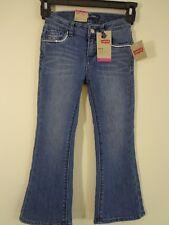 Levi's Girls Flare Stretch Denim Jeans, Uncrushed 5 R NWT Adjustable waist (F)