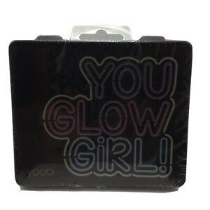 Yoobi You Glow Girl Mini Supply Kit Black Pink School Supplies