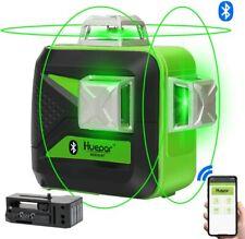 Niveau Laser Vert avec Bluetooth Huepar 603CG-BT 3×360, Auto-nivellement