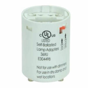 Satco 13W Electronic Self-Ballasted Smooth Phenolic Socket