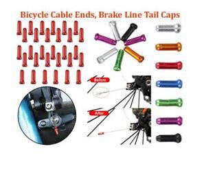Aluminum Alloy Brake Wire End Cap For Mountain Road Bik MTB BMX, Cable Tail Cap